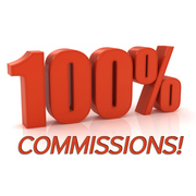 Earn 100% commissions while working from home